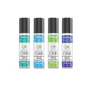 essential oils with CBD